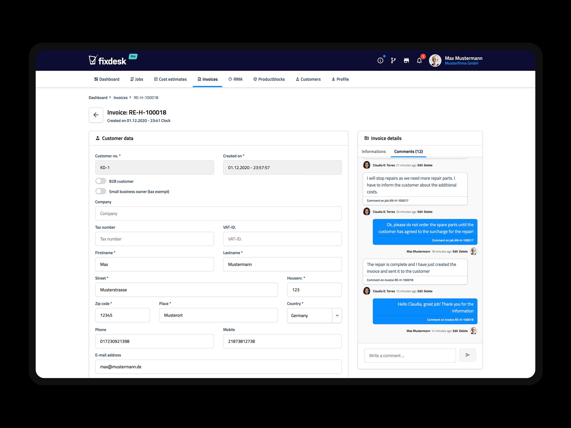 features.comments